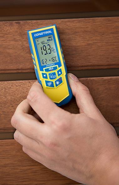 Измерение влажности древесины своими руками