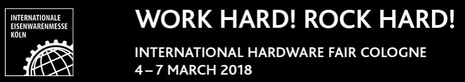 HARDWARE SHOW 2018 выставка оборудования и инструмента в кельне