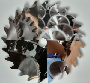 Как производят пильные диски с твердосплавными пластинами. Производство.