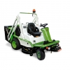 Профессиональная газонокосилка ETESIA HYDRO 124D для коммерческого использования.