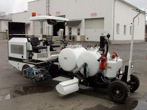 Машина дорожной разметки Kontur 700ХПК