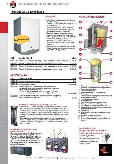 Каталог ACV 2010. Полый ассортимент, устройство и применение. -