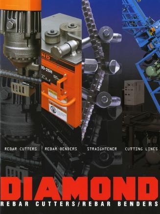Каталог DIAMOND. Оборудование для обработки арматуры. -
