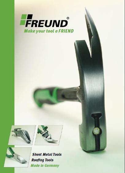 Каталог кровельного инструмента FREUND (Германия) -