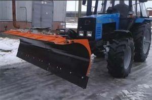 Отвал передний БелДТ 7002 на трактор МТЗ 1221