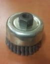 Щетка торцевая витая ЩТВИ М14х70 мм, арт. 560540